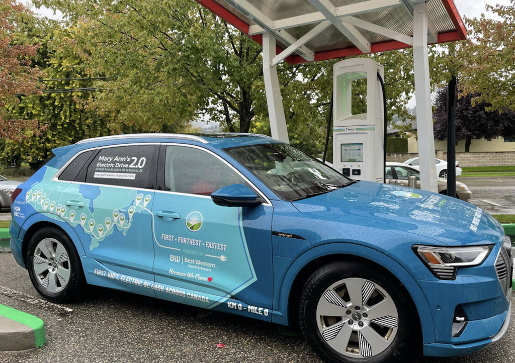 Vancouver Driver New EV Record - Movin'On